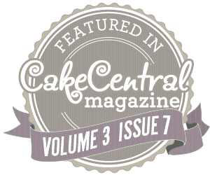 Featured in Cake Central Magazine!